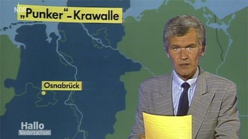 """Hallo Niedersachsen 28.12.2013 """"Punker""""-Krawalle vor 30 Jahren"""